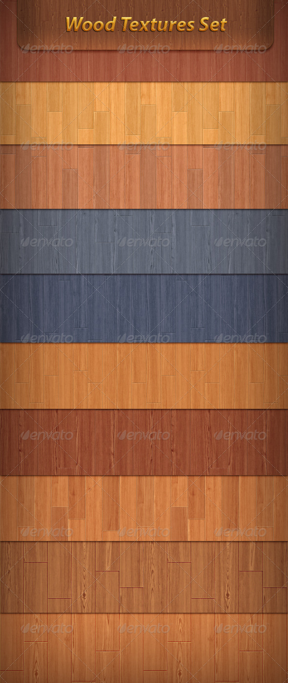 GraphicRiver Wood Texture Set 1997063