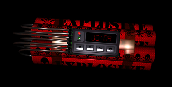 VideoHive Time Bomb Intro 1999473