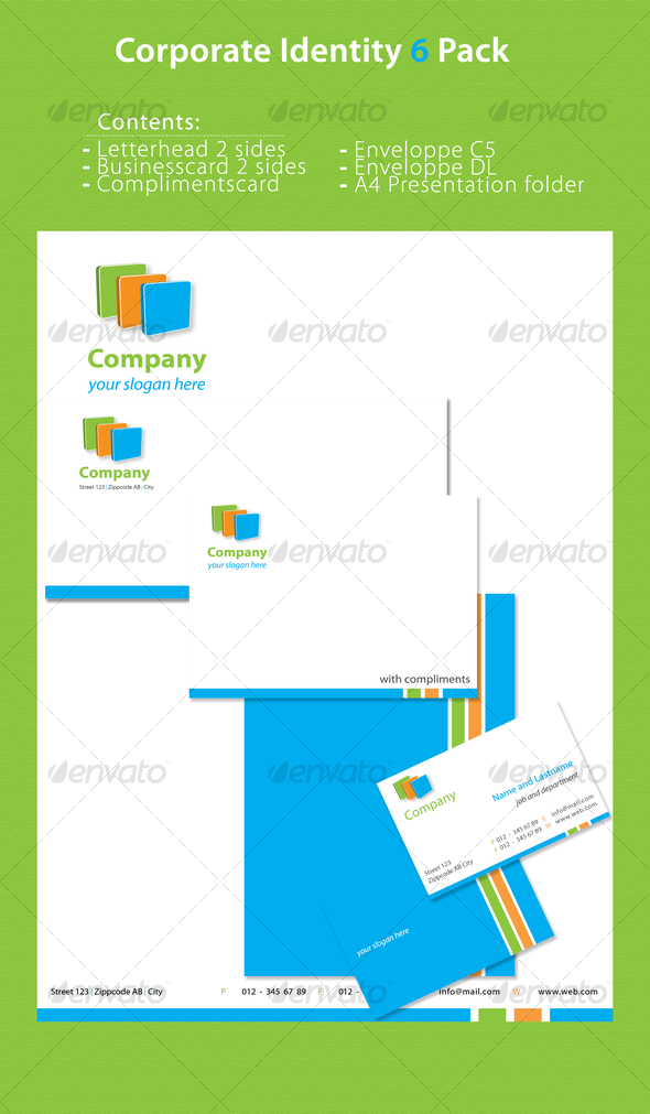 GraphicRiver Corporate Identity 6 Pack 71346