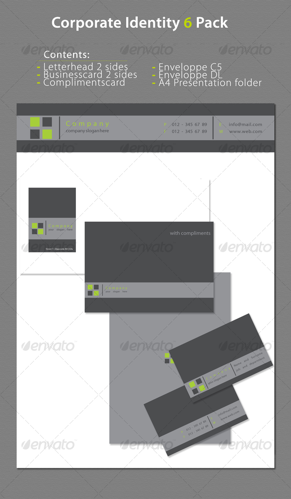 GraphicRiver Corporate Identity 6 Pack 70727