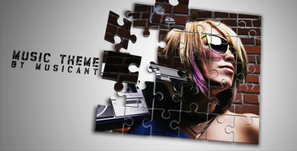 After Effects Project - VideoHive Chanfaina puzzle 232692