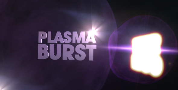 After Effects Project - VideoHive Plasma Burst Logo 42633