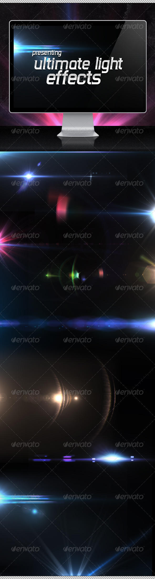 GraphicRiver 25 Ultimate Light Effects Volume 1 1683164