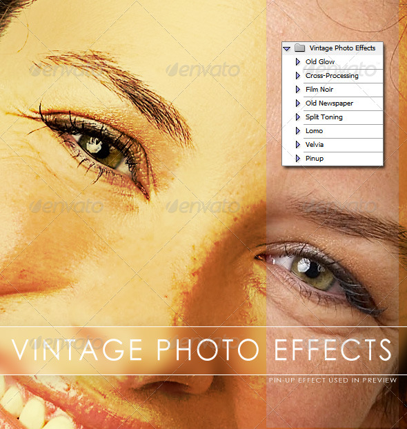 GraphicRiver Vintage Photo Effects 232788