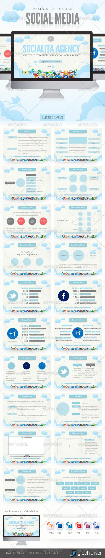 GraphicRiver Social Media Presentation Template 428939