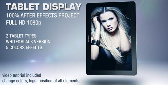 VideoHive Tablet Display 2004371