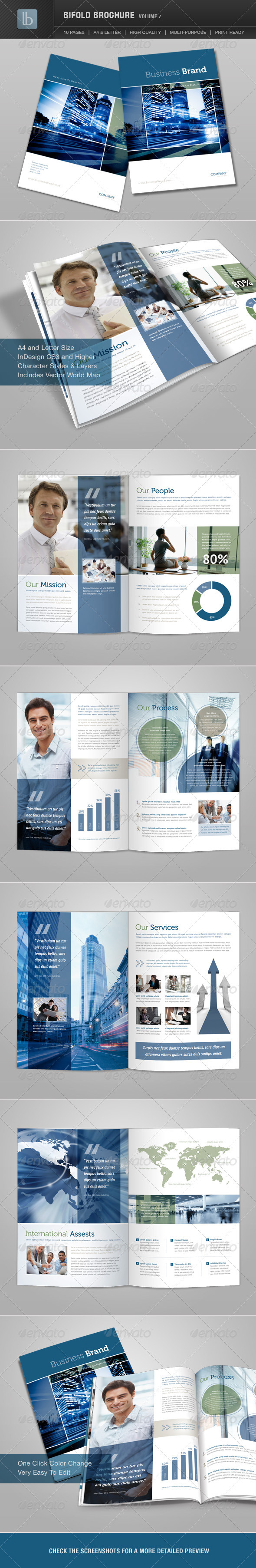 GraphicRiver Bifold Brochure Volume 7 2005107