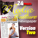 24 Pages Media & Culture Newspaper Version Two - GraphicRiver Item for Sale