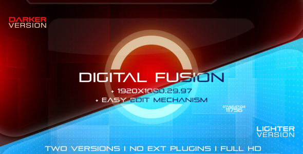After Effects Project - VideoHive Digital Fusion A Sci-Fi Futuristic Templa ...