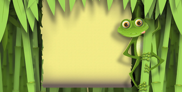 VideoHive Frog in the jungle 2007429