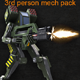 Mech Starter Pack - ActiveDen Item for Sale