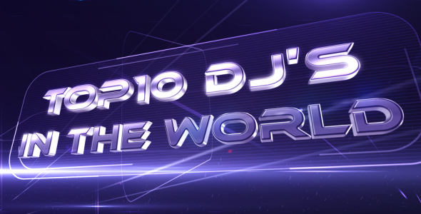 After Effects Project - VideoHive Club Presentation Top 10 Dj's 232754