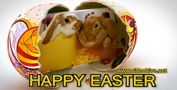 After Effects Project - VideoHive HAPPY EASTER 2011 233678