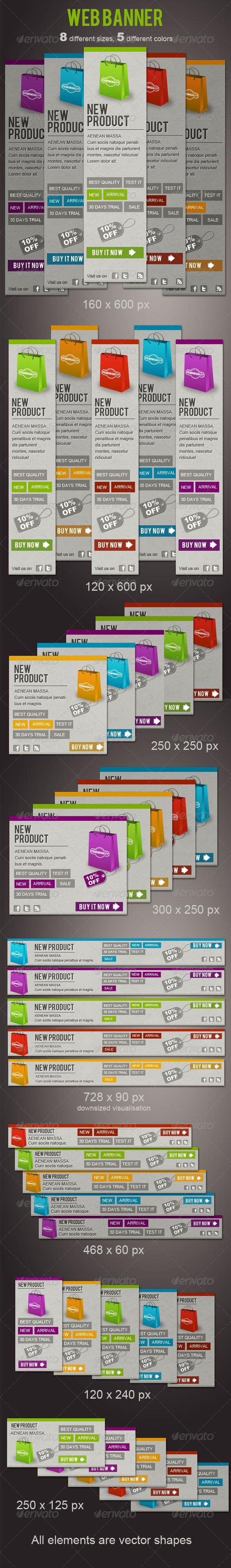GraphicRiver Fresh Web Banners 2010487