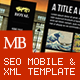 Royal XML, SEO & Mobile Template - ActiveDen Item for Sale