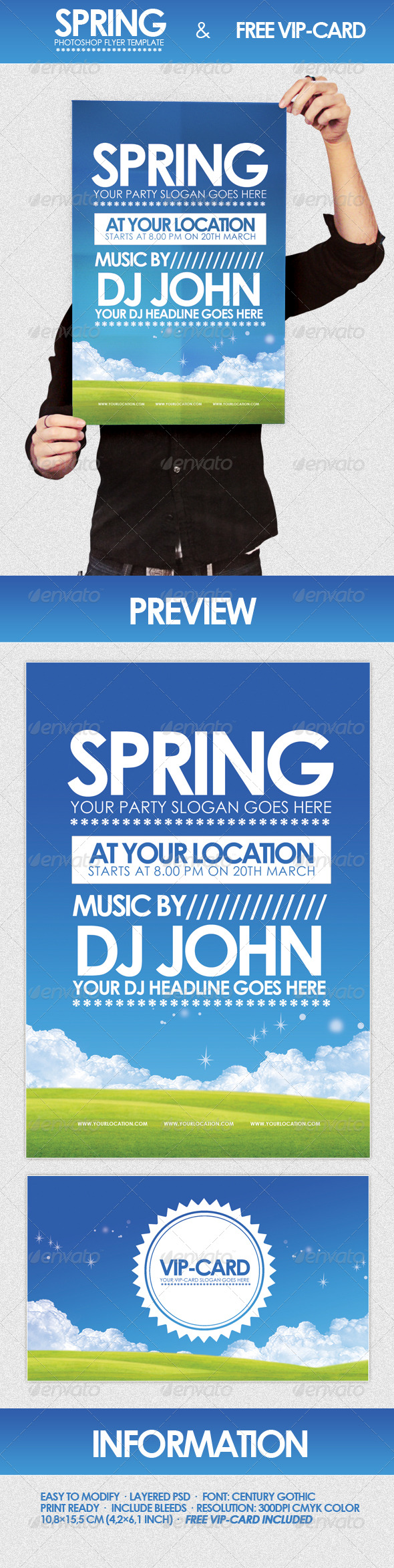 GraphicRiver Spring Flyer Template 233872