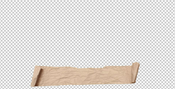 VideoHive Paper Roll Lower Third 1863530