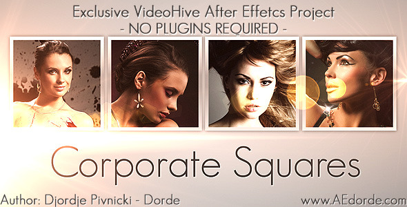 VideoHive Corporate Squares 2013047