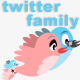 Twitter Family - GraphicRiver Item for Sale