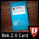 Business Card - Web 2.0 Style - GraphicRiver Item for Sale