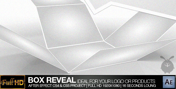 After Effects Project - VideoHive Box Reveal 234832