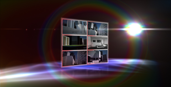 After Effects Project - VideoHive Panel Display 234901