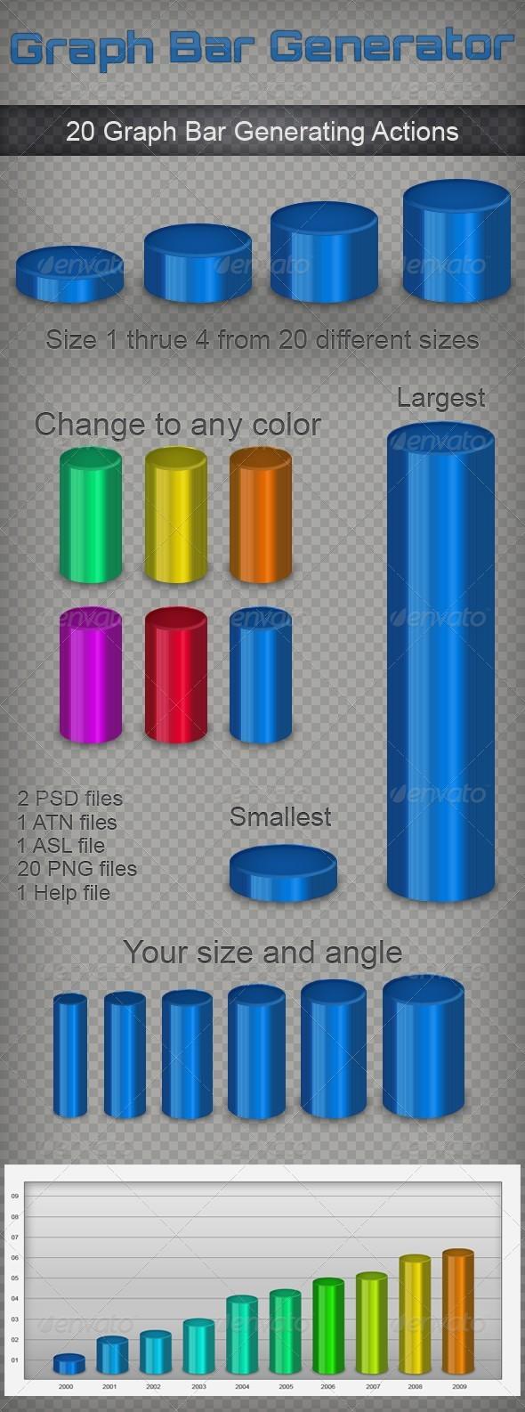 GraphicRiver 3D Graph Bars Generator 142641