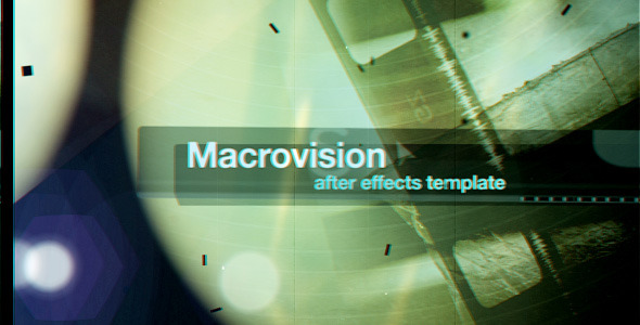 After Effects Project - VideoHive Macrovision 2021686