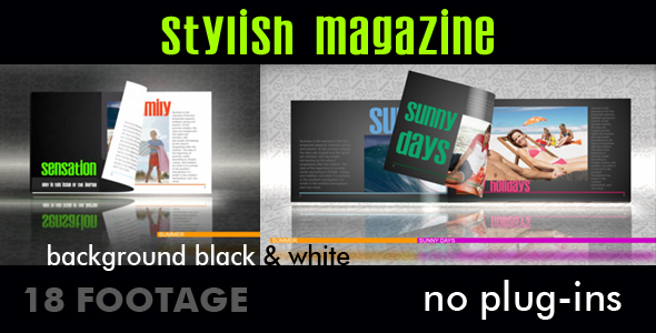 After Effects Project - VideoHive Stylish magazine 234995