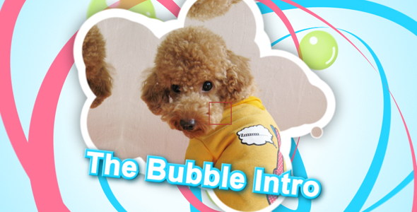 After Effects Project - VideoHive The Bubble Intro 222178