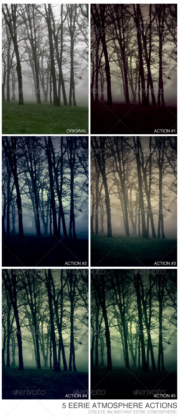 GraphicRiver 5 Eerie Atmosphere Actions 234988
