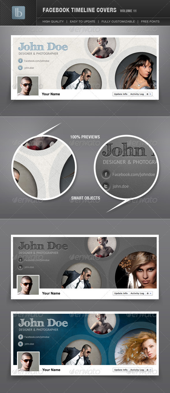 GraphicRiver Facebook Timeline Covers Volume 11 2025076