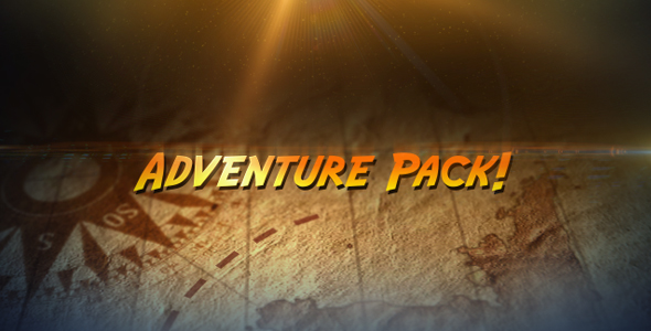 After Effects Project - VideoHive Adventure Pack 235329