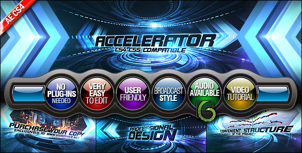 After Effects Project - VideoHive Accelerator 235350