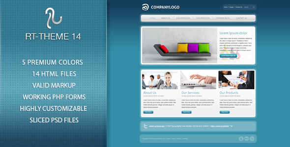 ThemeForest RT-Theme 14 Premium Business Template 235210