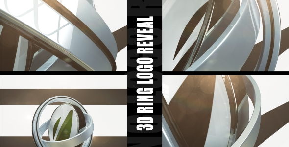 After Effects Project - VideoHive 3D Ring Logo Reveal 235767
