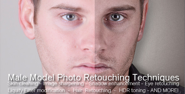 TutsPlus Male Model Photo Retouching Tutorial 235865
