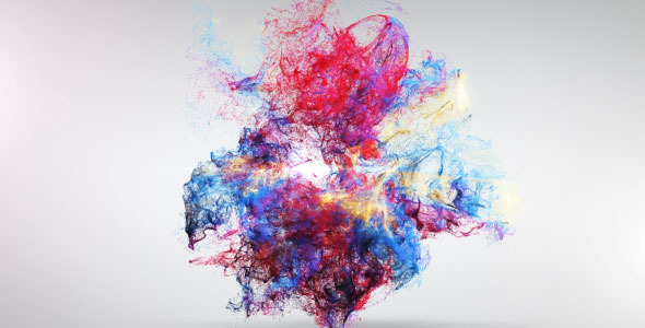 VideoHive Colorful Explosion Logo Reveal 2031232