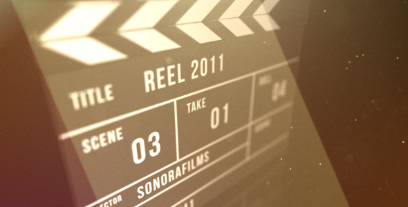 After Effects Project - VideoHive Clapperboard reveal 236181