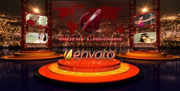 VideoHive Broadcast Design Tv Image 2035462