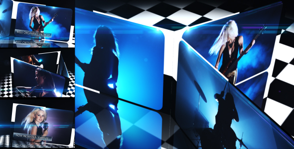 After Effects Project - VideoHive Check Board Display 236581