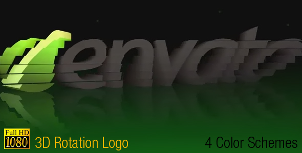 After Effects Project - VideoHive 3D Rotation Logo 236601