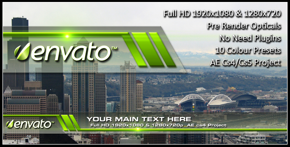 After Effects Project - VideoHive Lower Third Layer 236852
