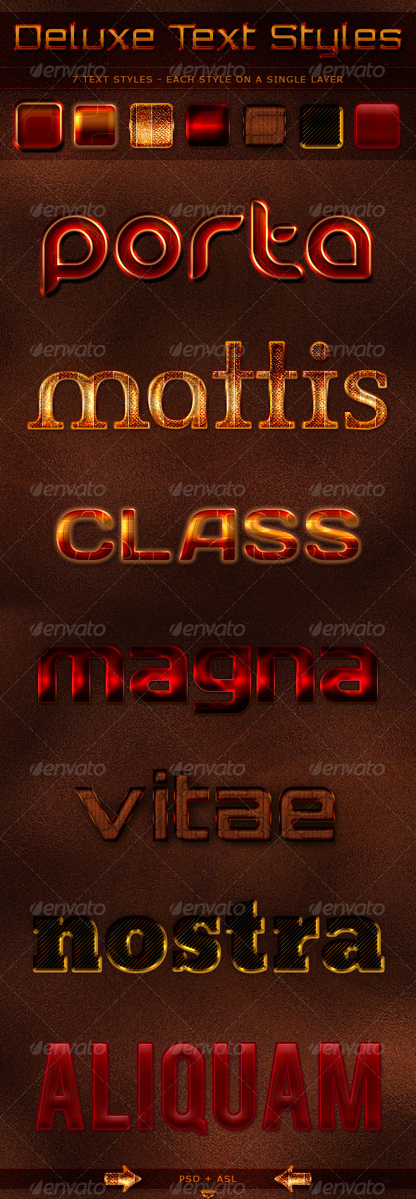 GraphicRiver Deluxe Text Styles 237227