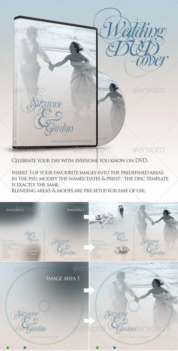GraphicRiver Wedding DVD & CD Covers 237242
