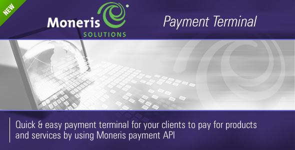 CodeCanyon Moneris Payment Terminal 237597