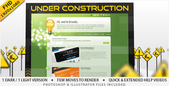 VideoHive Under Construction Site 2023957