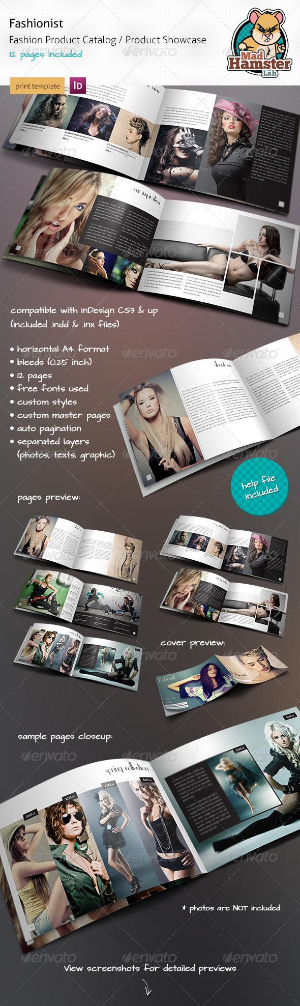 GraphicRiver Fashionist Fashion Product Catalog Showcase 2049238