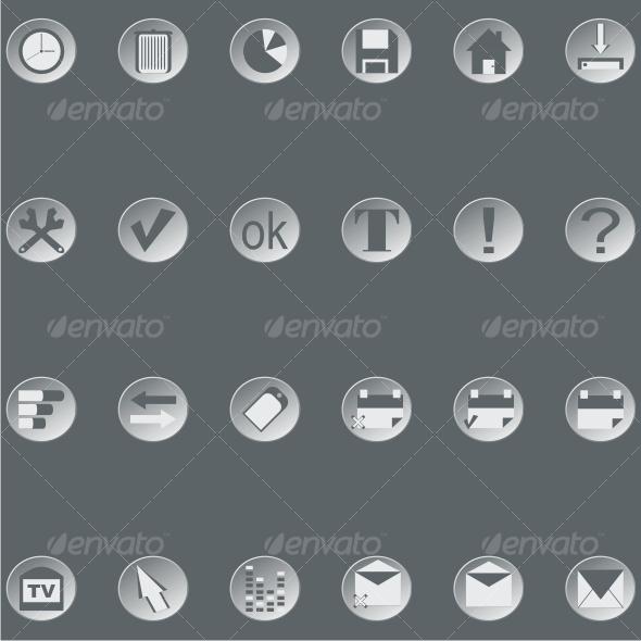 GraphicRiver Retro web buttons set3 77995