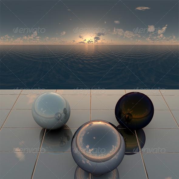 3DOcean Sea 21 CG Textures -  HDRI Images  Exterior  Sky  Low Light 2052334